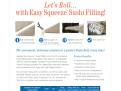 Aquamar Easy Squeeze Sushi Filling Sales Sheet