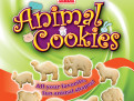 Baker's Batch Animal Cookies Bag Packaging Design